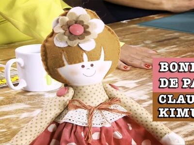07.10.2014 - Boneca de pano Sofia (Claudia Kimura)