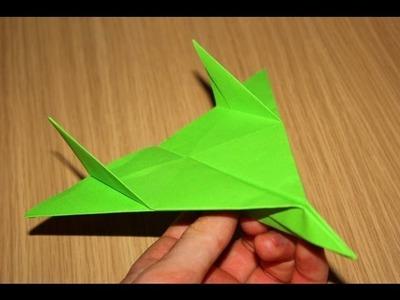 Avião de papel - (Voa muito. Testado)