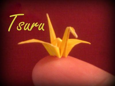 Como fazer um Pássaro de Origami - Dobradura de Papel - Papiroflexia