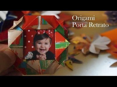 Como fazer um Porta retrato de ORIGAMI - Picture Frame Folder