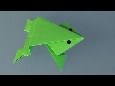 Como fazer um Sapo de papel, origami