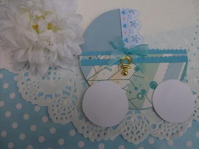 DIY: Convites em forma de carrinho para chá de bebé batizado ou aniversario.