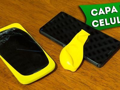 Faça Você Mesmo uma Capa para Celular - DIY: How to a Easy Cover For Cell