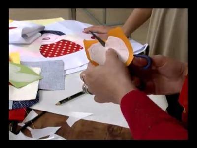 """Mulher.com 14.07.2011 - Customização """"Joaninha"""""""