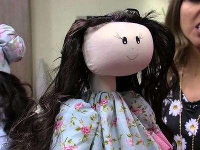 Mulher.com 22.08.2014 - Boneca Melaine por Silvia Torres - Parte 2