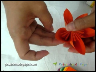 Pedacinho de Papel   Flower