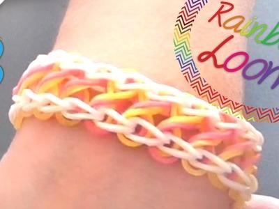 Rainbow Loom - Pulseira Infinito ( Com Dois Garfos )