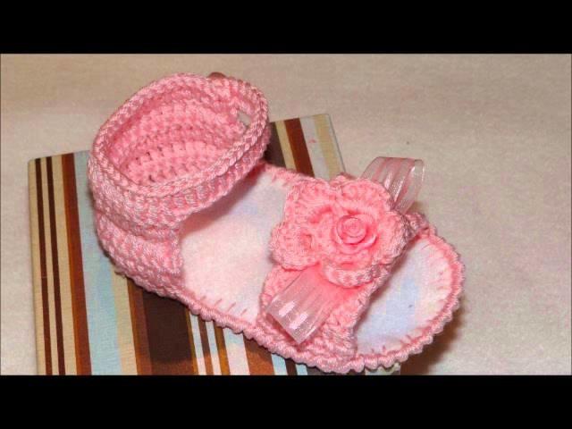 Sandálias em Crochê