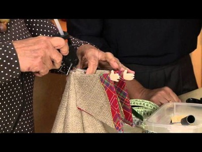 Vida Melhor - Artesanato: Anjinho de juta biscuit (Carmen Araújo)