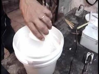 Tutorial de molde econômico de silicone - Parte 1:5