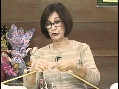 ARTE BRASIL -- CLAUDIA MARIA -- PELERINE TIFFANY EM TRICÔ (01.04.2011 - Parte 1 de 2)