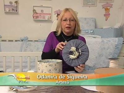 Artesanato - Aprenda fazer caixa de papelão