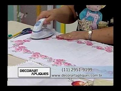 Ateliê na TV - Márcia Caires - Caminho de Mesa Florido