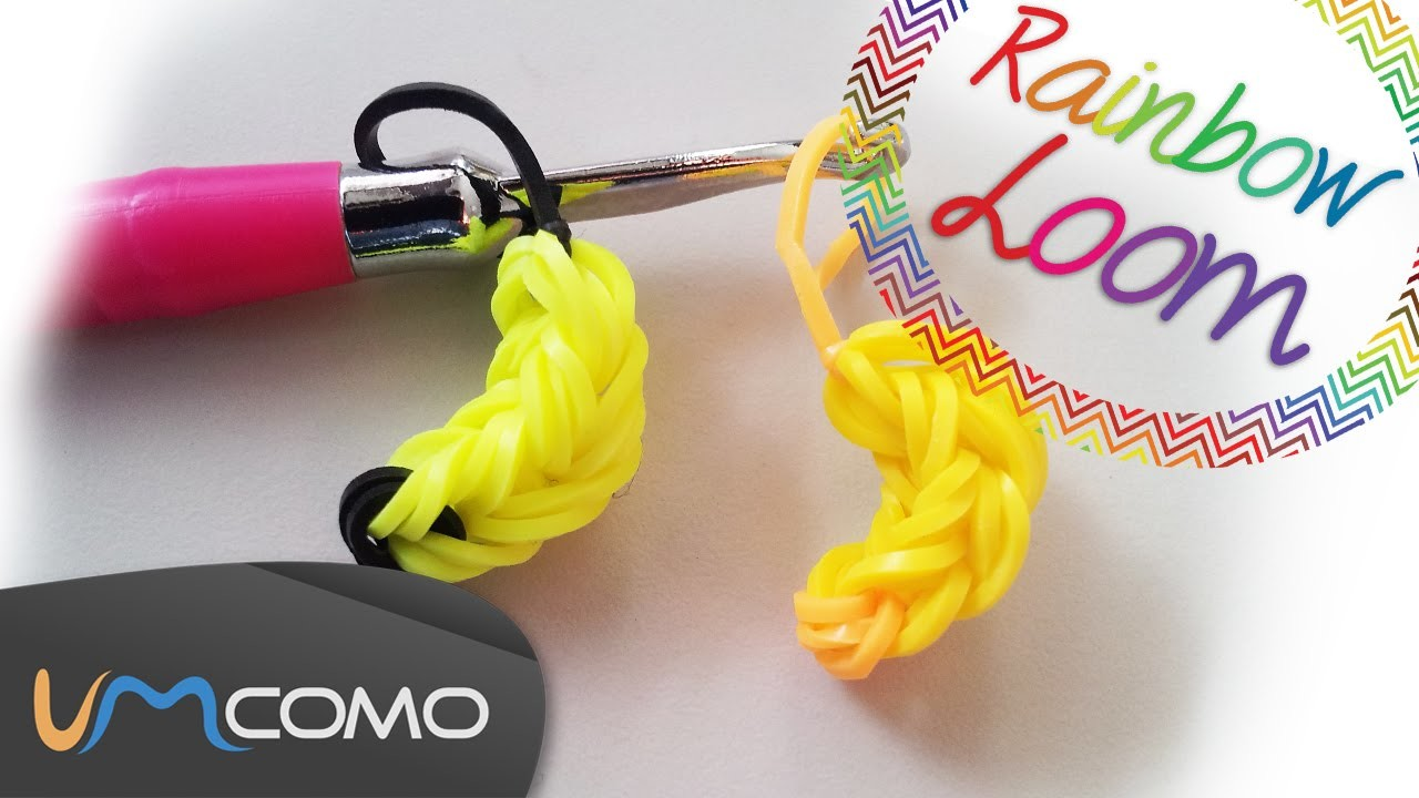Banana - Rainbow Loom ( Sem Tear )