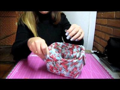 Cachepô- pote de sorvete reciclado.WMV