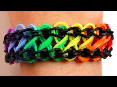 Como fazer pulseiras de elástico: Infinito #LoomBands (sem tear)