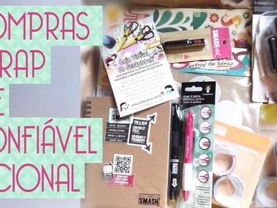 Comprinhas scrapbook site confiável nacional- Scrapbook by Tamy