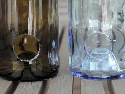 Decore com garrafas e caixas de vinho