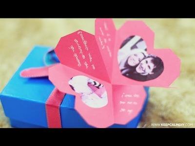 DIY: Cartão de corações | Presente Dia dos Namorados