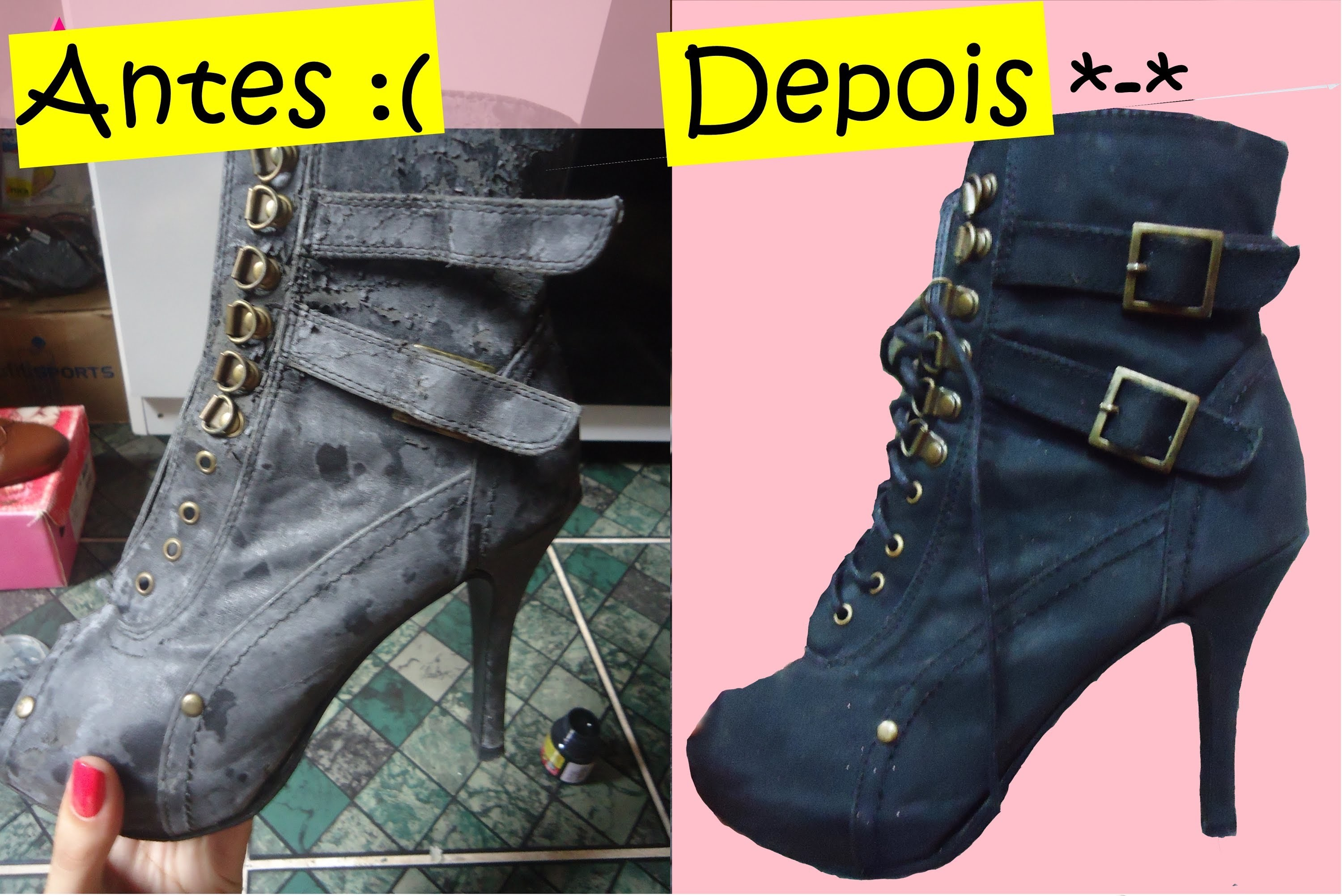 DIY: Customize ou Recupere seus Sapatos