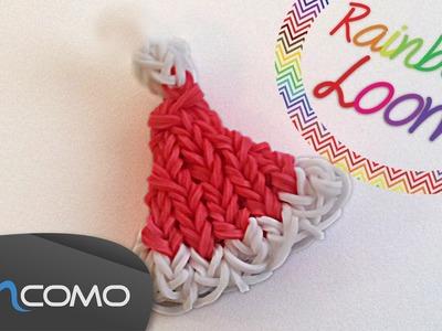 Rainbow Loom - Chapéu de Pai Natal