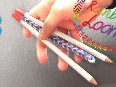 Rainbow Loom - Pulseira Fishtail ( Com Dois Lápis )