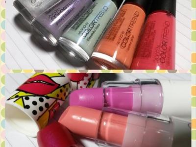 Resenha: Batons e Esmaltes Coleção #POPART Color Trend Avon