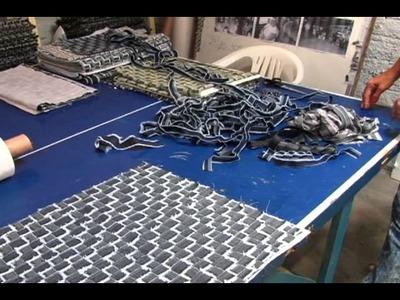 Restos de Jeans das Fábricas de Caruaru são Reciclados pelo Projeto Mulheres de Argila.