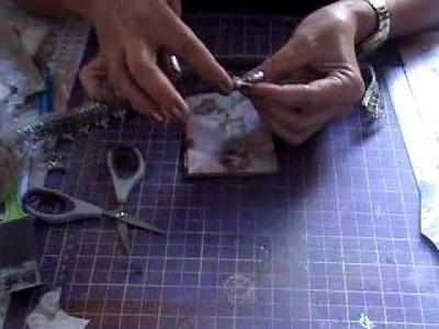 SCRAPBOOKING: Cartão com rolinho de papel higienico
