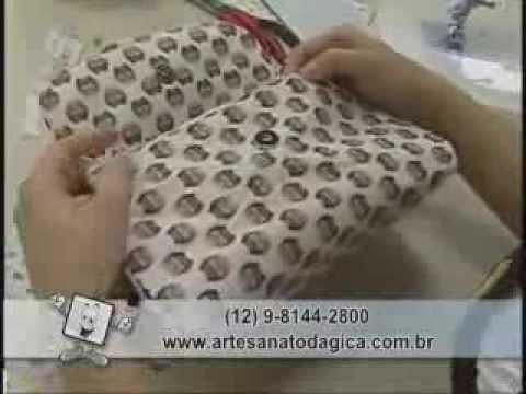 Arte Brasil - Estilotex - Bolsa Necessaire