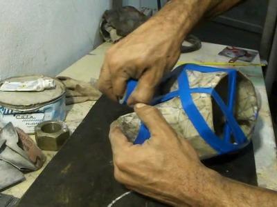 Como resinar papercraft - parte 20 - overdosegamer.blogspot.com.br