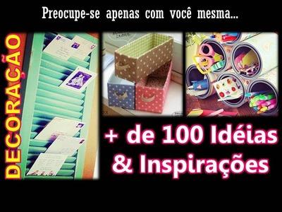 DECORAÇÃO: Mais de 100 Idéias & Inspirações (DIY) | Maio #28