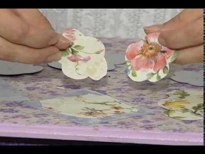 Manhã Viva - Artesanato - Flor de Retalho