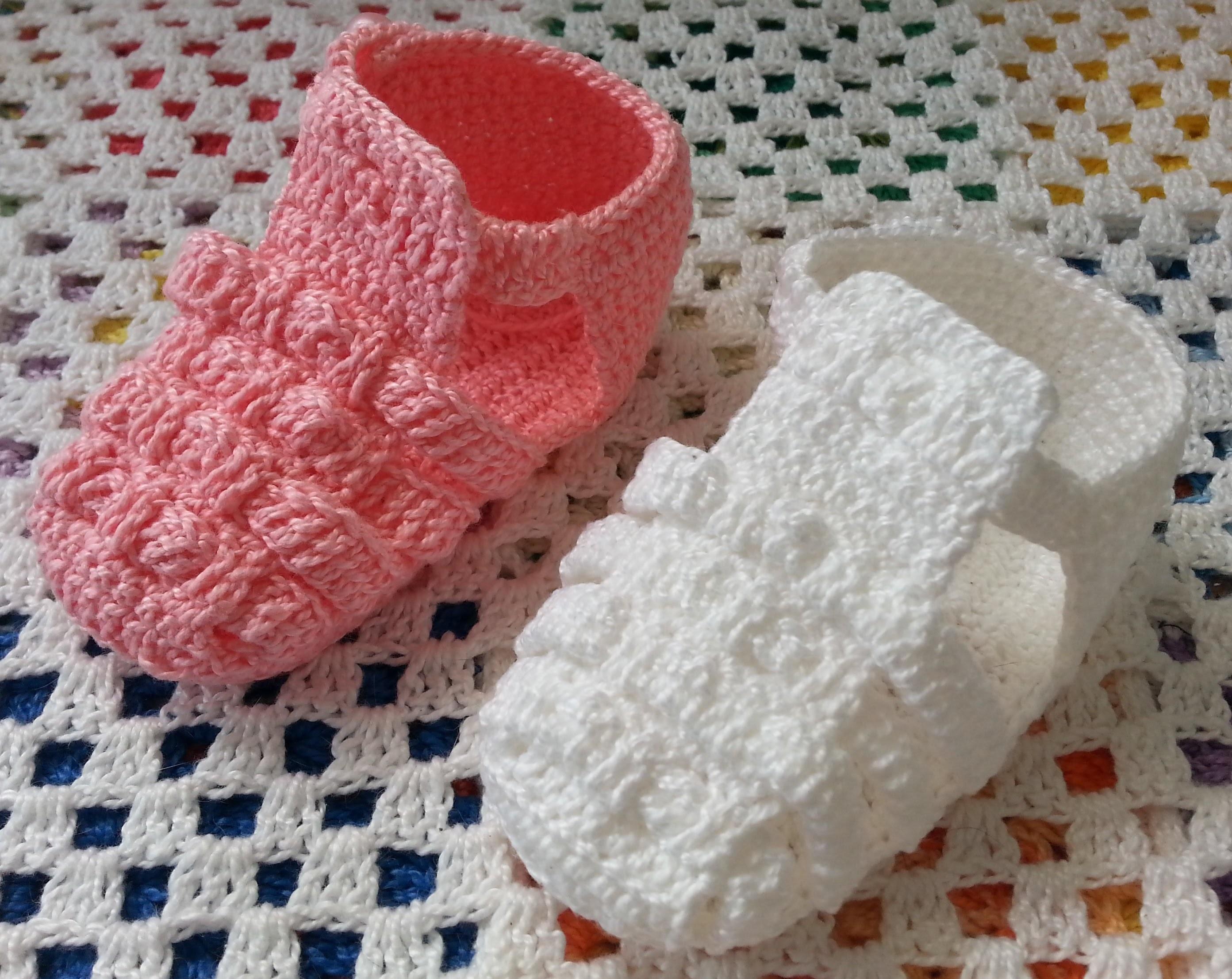 Melissa de crochê - Versão para CANHOTAS