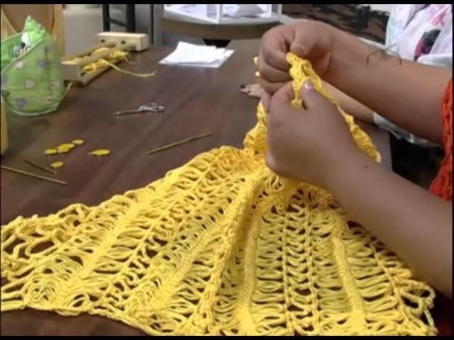Mulher.com 19.11.2012 Eliete Massi - Blusa com crochê de grampo 2.2