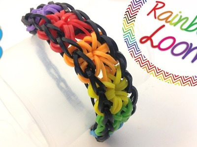 Rainbow Loom - Pulseira Starburst