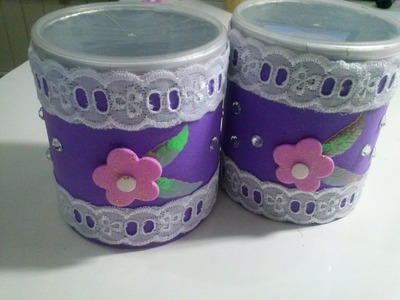 Reciclando latas para lembrancinha de aniversário