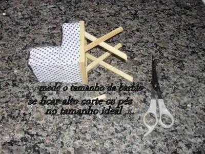 Tutorial: como fazer um carrinho de bebê para  a filha da  barbie