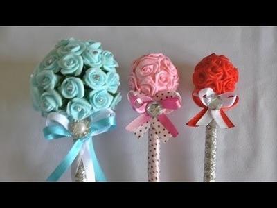 Caneta decorada para o dia das mães ou casamento