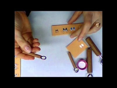 Como fazer olhos e bocas com ferramentas simples