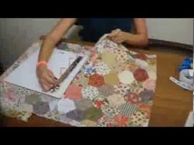 Fichário Personalizado usando tecido! DIY