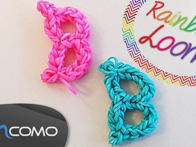 Letra B - Rainbow Loom