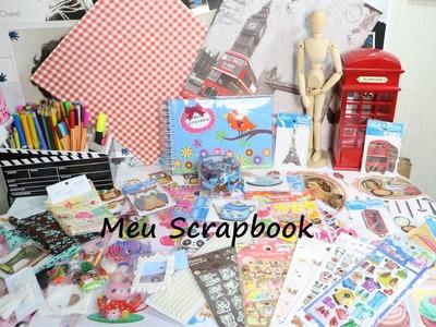 Meu Scrapbook - Projeto de férias
