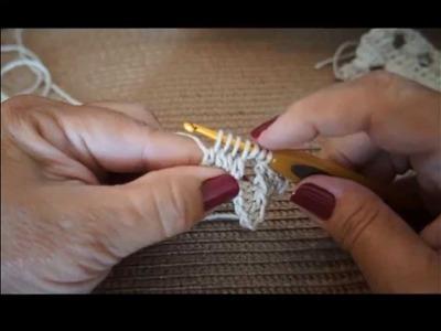 Ponto Torcido no Croche (Crochet Twist Stitch) Sonia Maria Falando de Crochet