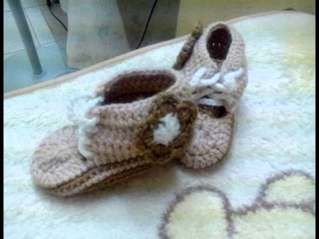 Zapatitos a crochet para bebe de varios modelos