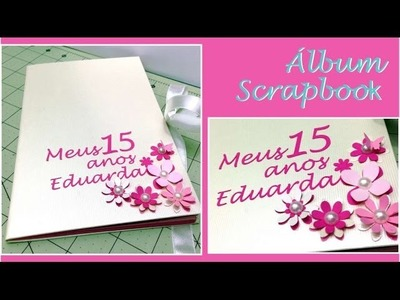 Álbum Scrapbook - Capa dura
