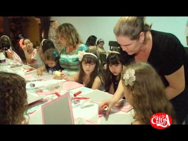 Aniversário de Criança - Oficina de Scrapbook