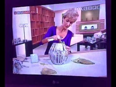 Artesanato - Vaso de filtro café usado