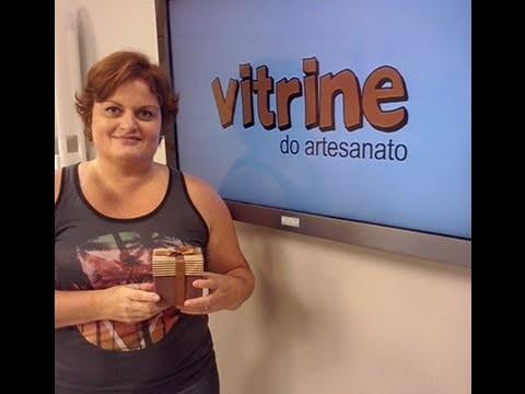 Caixa para Lembrança com Andrea Campanilli | Vitrine do artesanato na TV