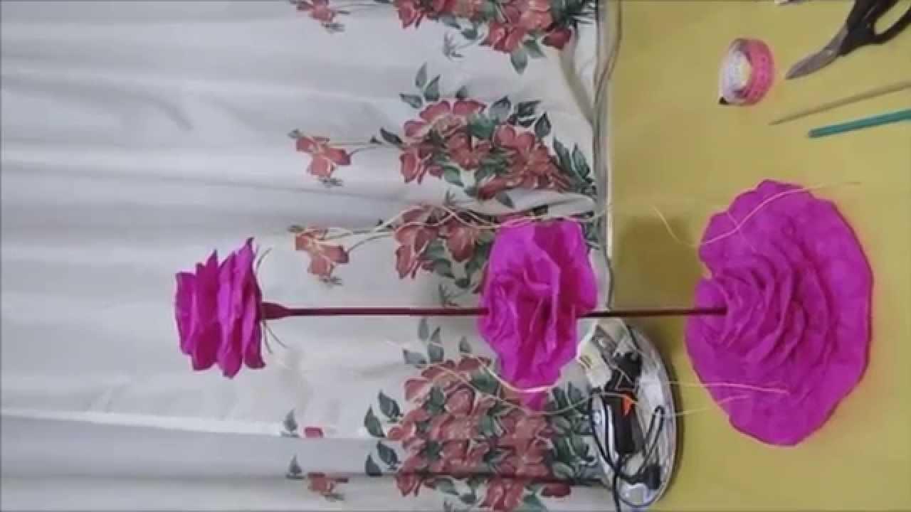Centro de Mesa, Rosas Pink - 15 Anos ou Casamento